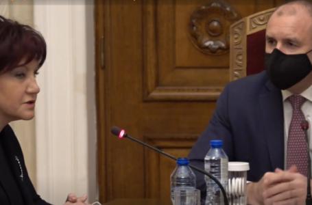 В президентството: Караянчева сравни Радев с Тръмп – оспорвал вота