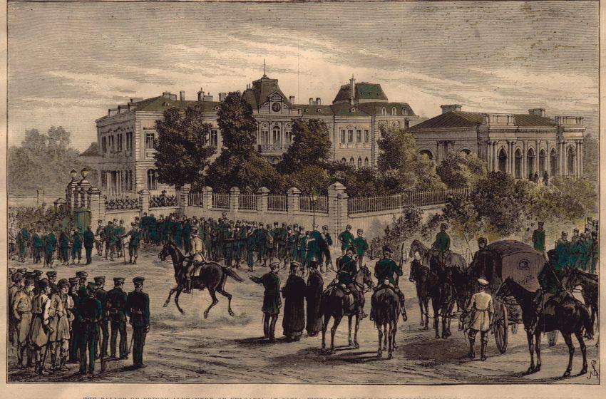 Превратът на 8 срещу 9 август 1886 година
