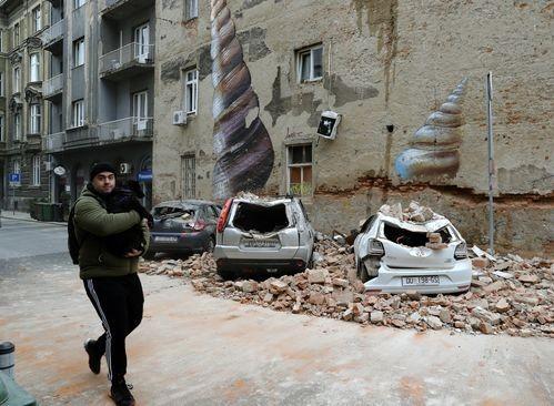В Хърватска: след земетресението, ковида изчезна внезапно!